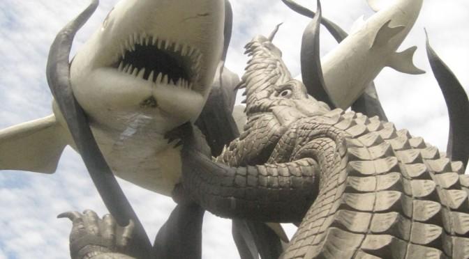 Haie, Krokodile und andere Hindernisse in Java und Sulavesie
