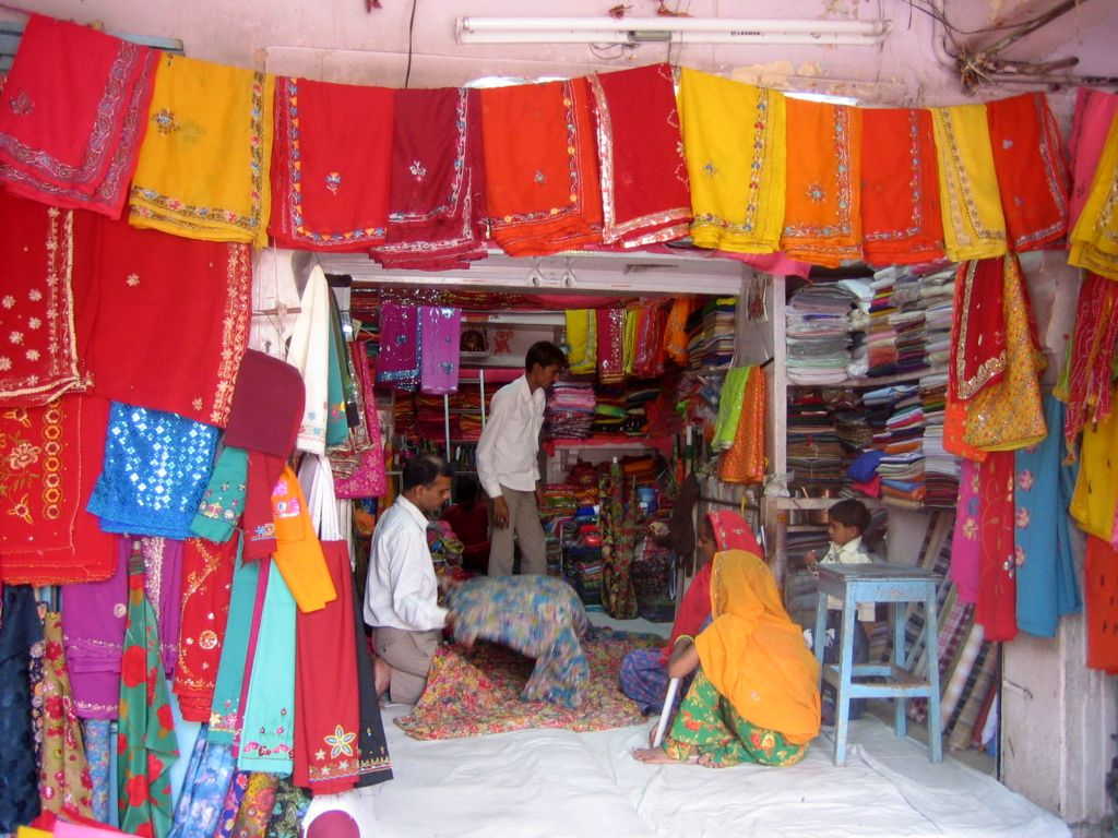 Straßenszene in Jaipur