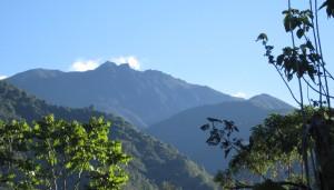 auf dem Weg zum Gipfel des Chirripo