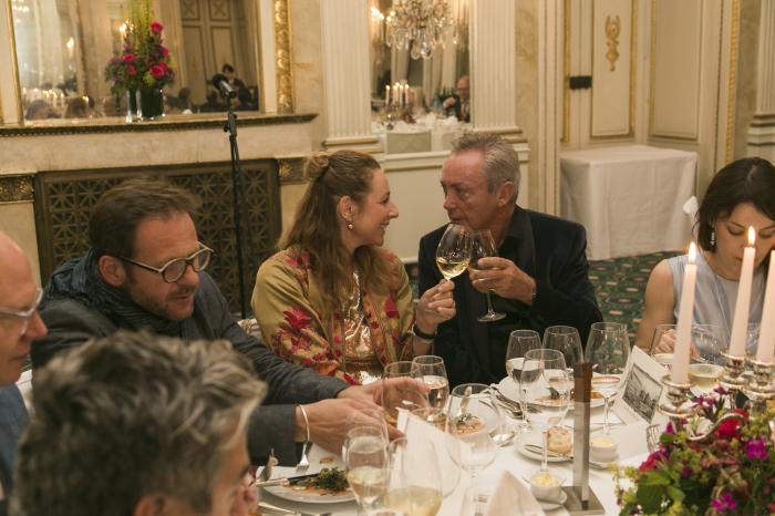 Udo, Diana Iljine und Gäste feierten im Bayerischen Hof
