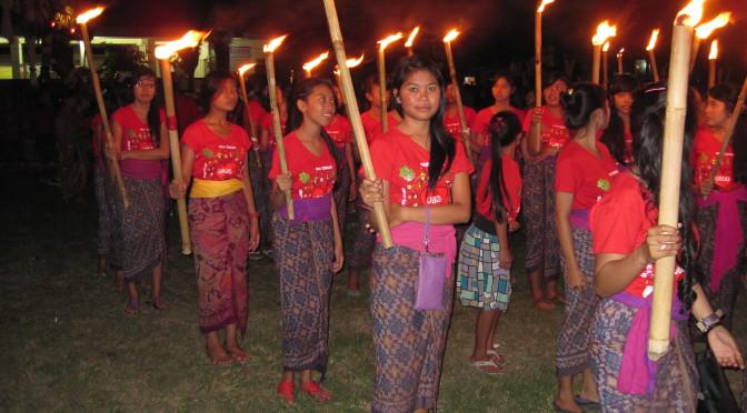 Nyepi, das Balinesische Neujahrsfest