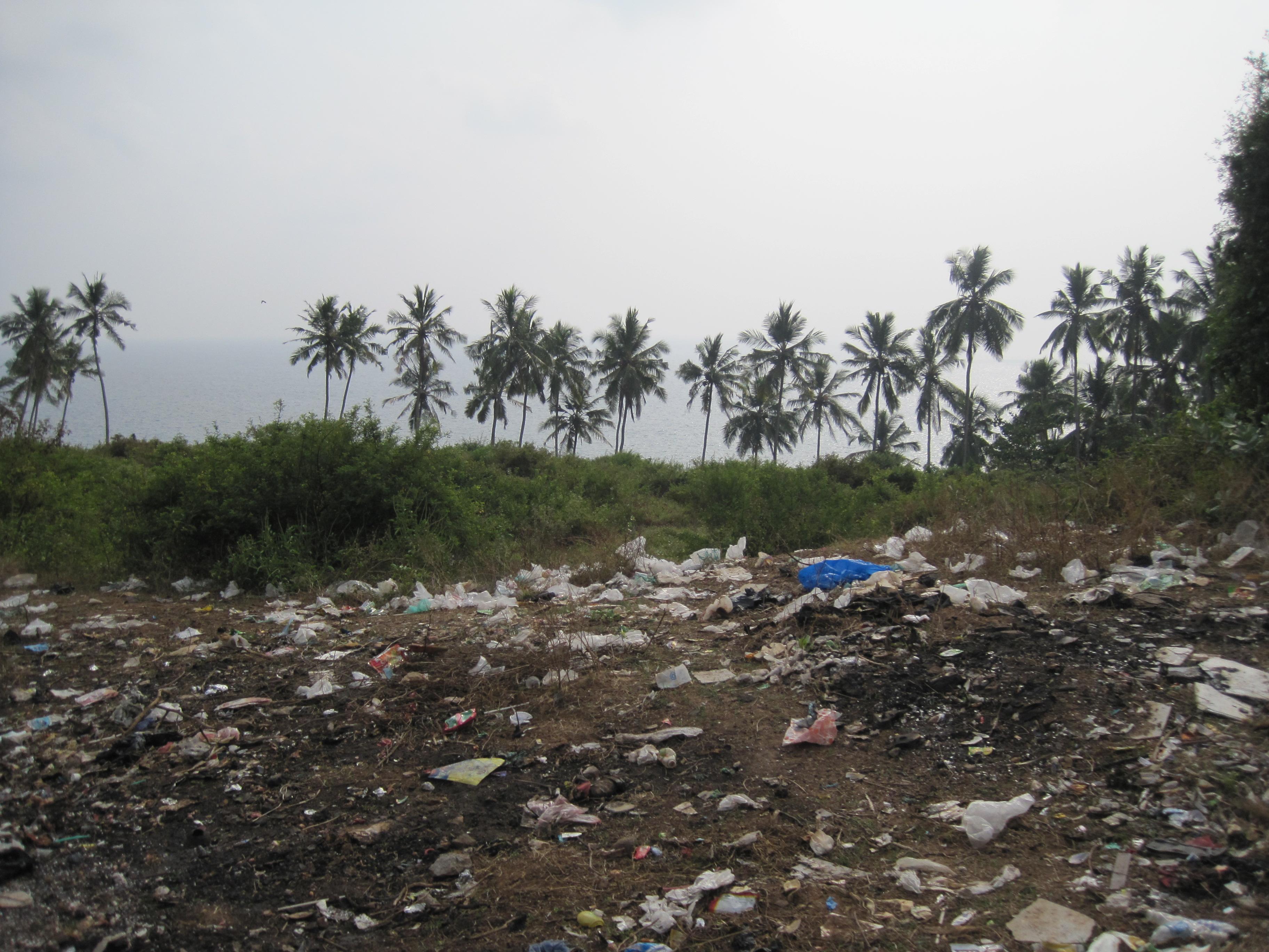 beim Strand von Kovalam, Kerala, Indien