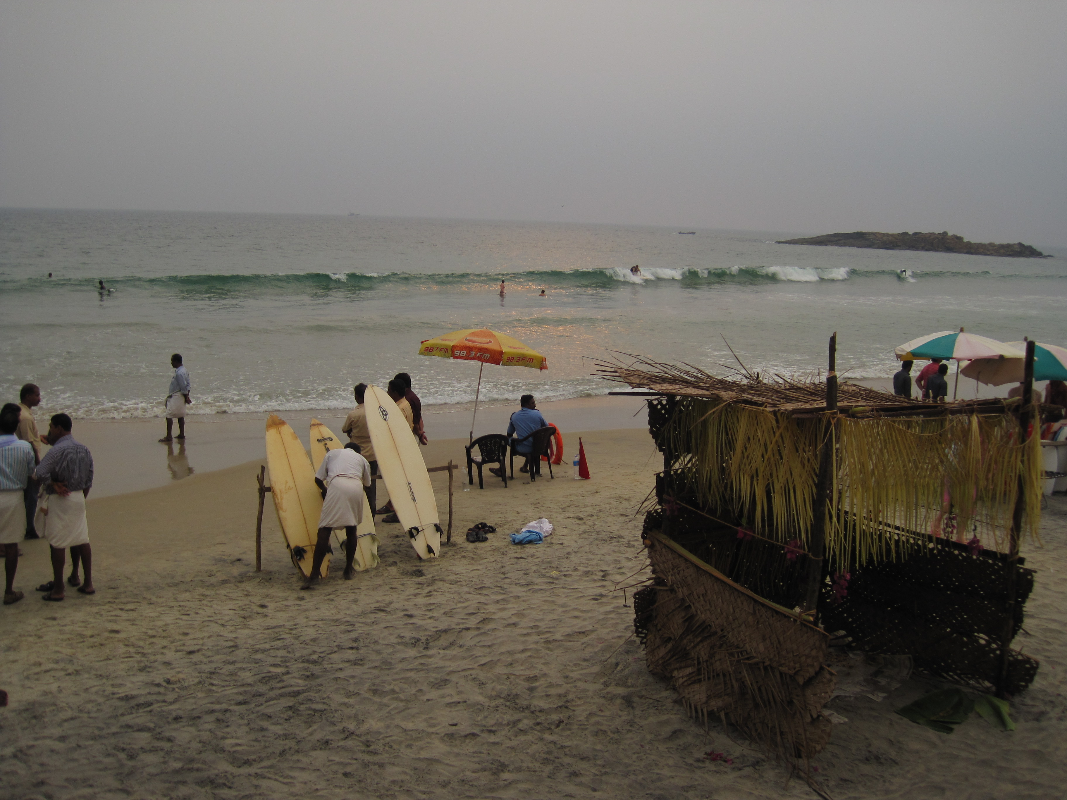 Strand von Kovalam