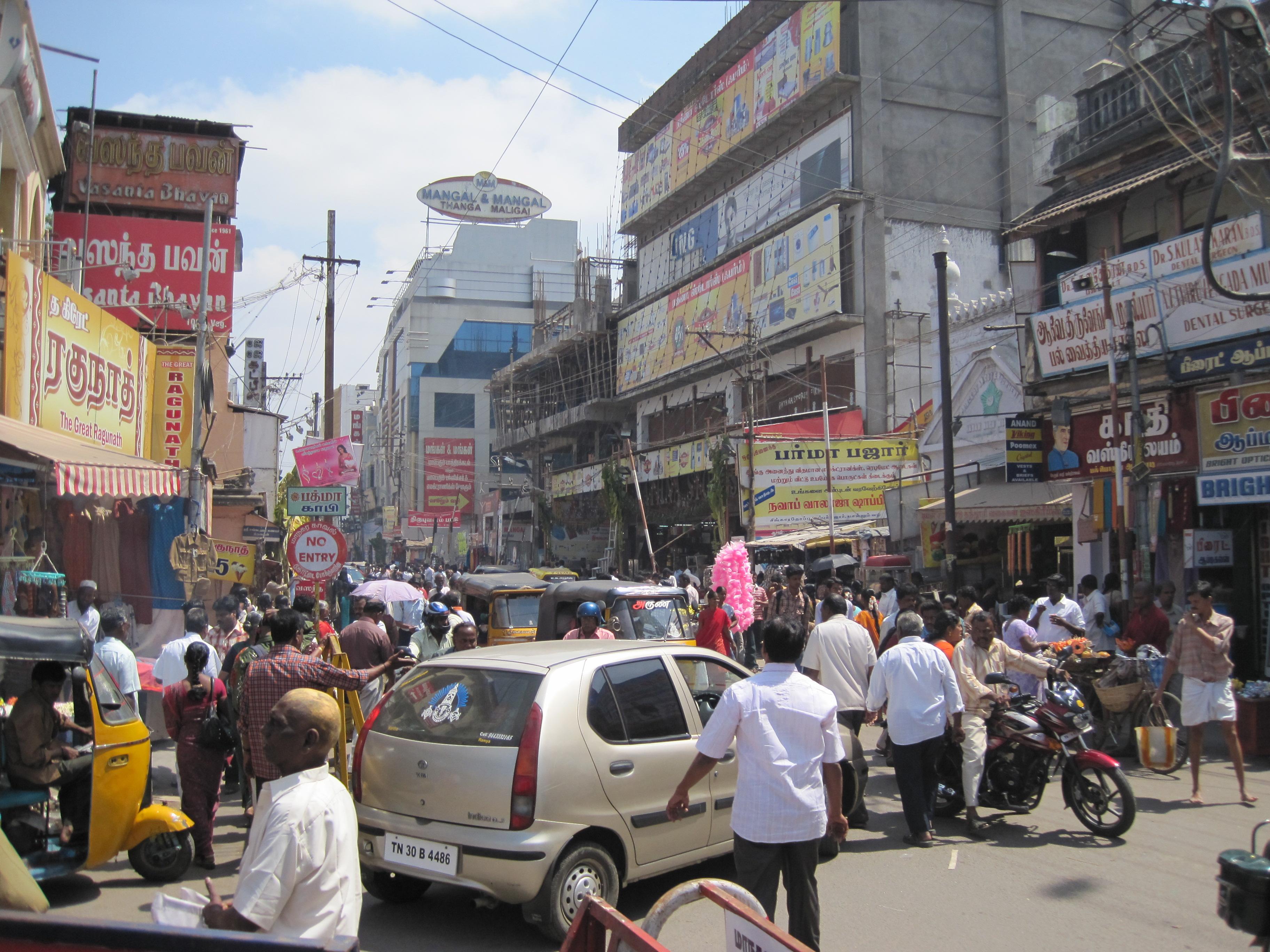Verkehr in Madurai