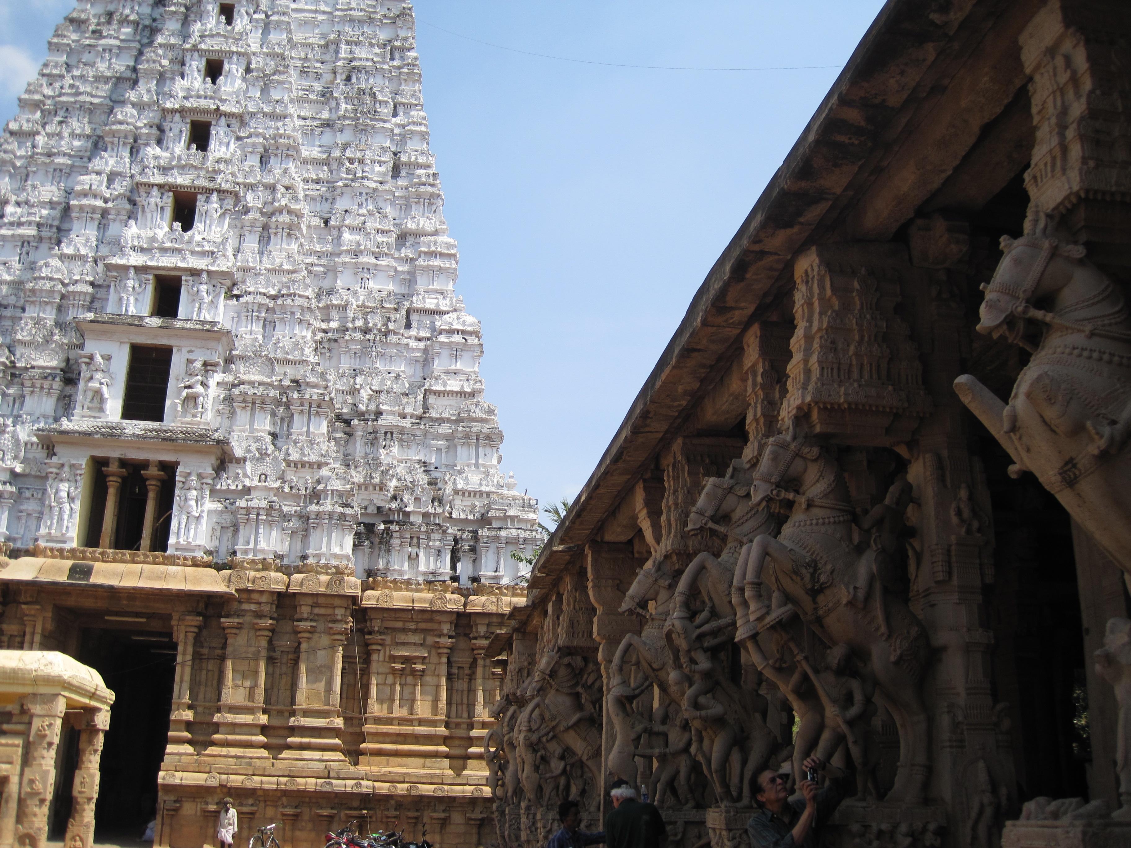 Trichy Tempelanlage