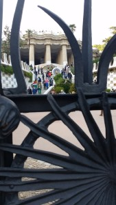 Eingang zum Parque Güell