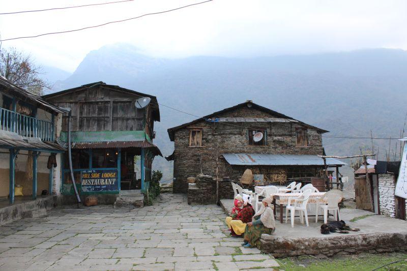 meine Farmunterkunft in Chuile