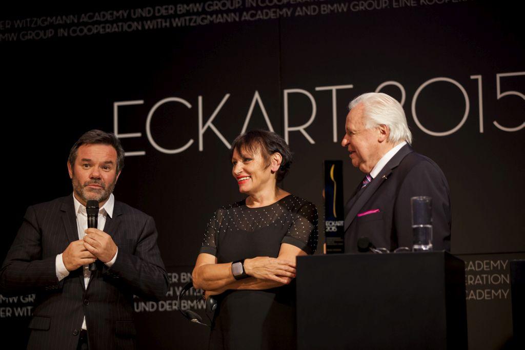 Michel und Troisgros mit Eckart Witzigmann