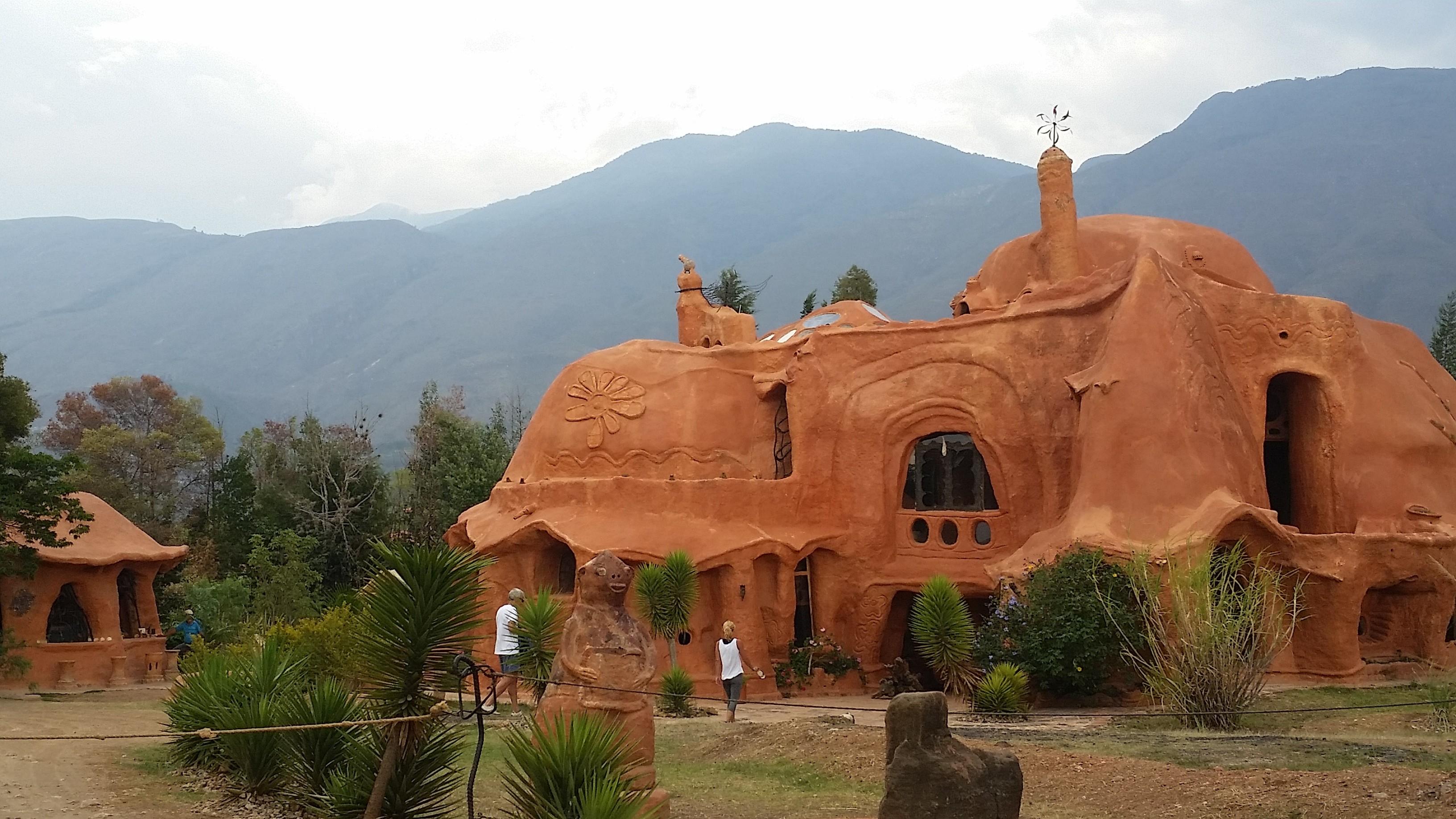 Terracotta-Haus