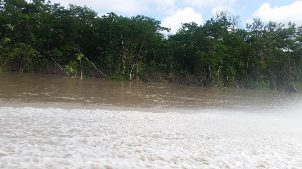 auf dem Boot nach Iquitos