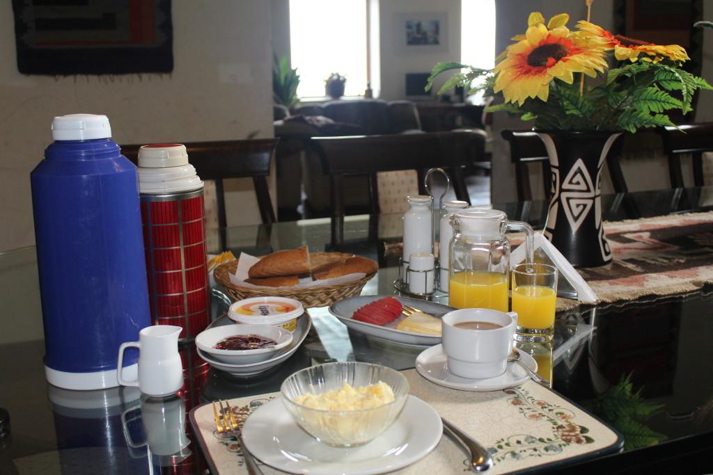 das kräftige Frühstück im Casa