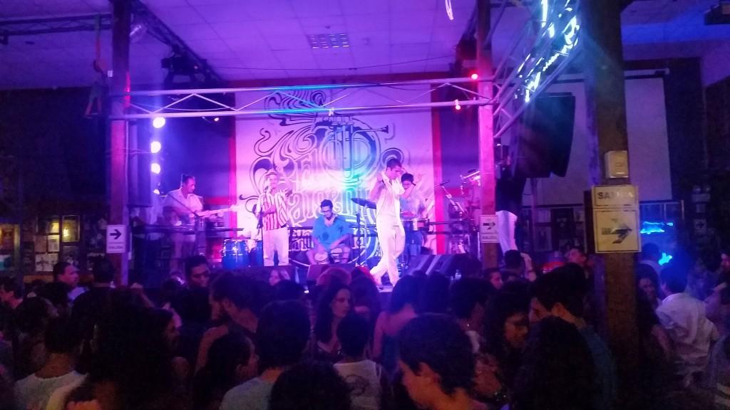 Salsa Live im Sargento Pimiento