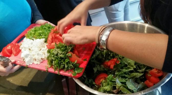 Treffen sich 14 Foodbloggerinnen…zum Kochen!