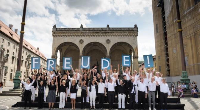 Klassik-Flashmob mit Freude Schöner Götterfunken