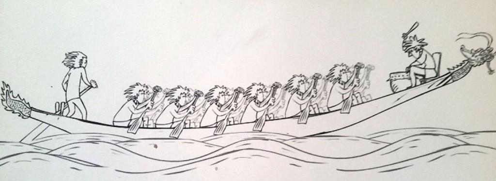 gezeichnet von Harry Flosser