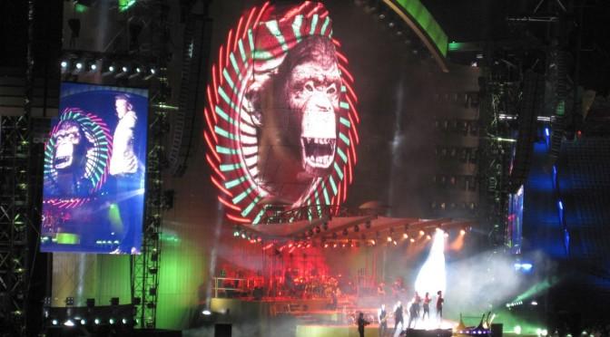 Robbie Williams im Olympiastadion
