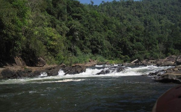 Rafting in Sri Lanka