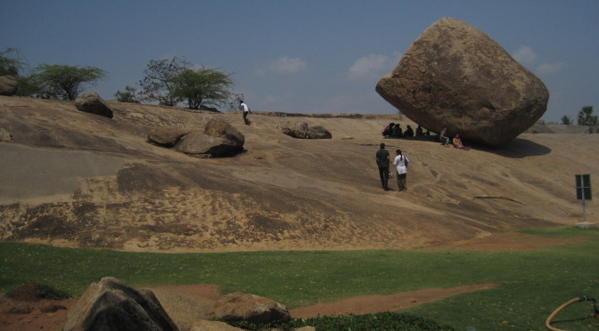 Felsentempel & französiches Flair in Mamallapuram & Pondycherry, Indien