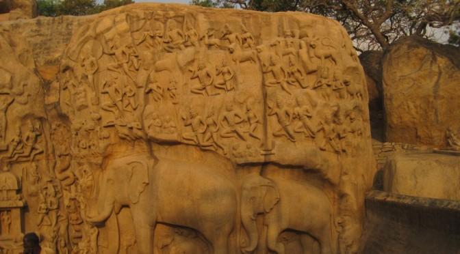 Mamallapuram, Indien