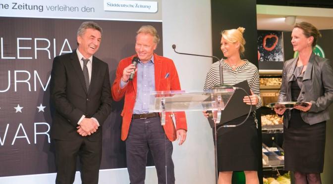 """Galeria Gourmet Award für Sternekoch Bobby Bräuer vom Genußtempel  """"Esszimmer"""""""