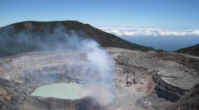 Costa Rica Vulkan Poas