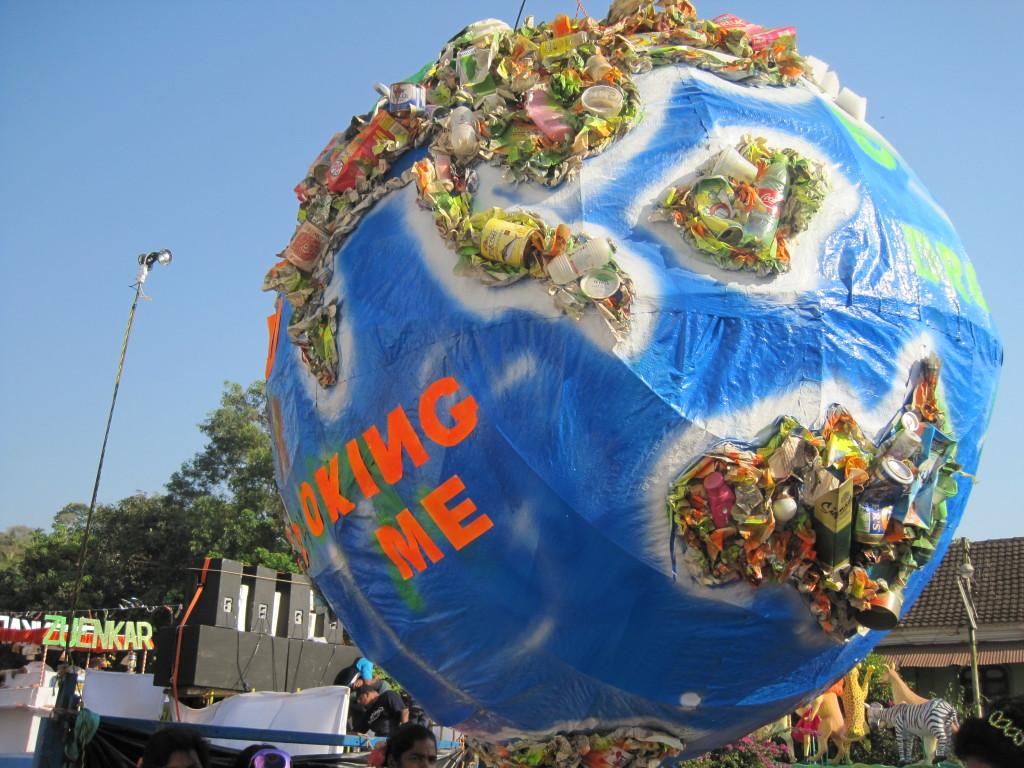 beim Karneval in Goa schon 2011 entdeckt