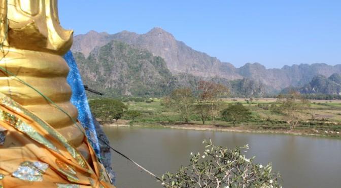 Vom Yangoon-Stau zu Höhlen-Pagoden und Felsenlandschaften in Hpa An