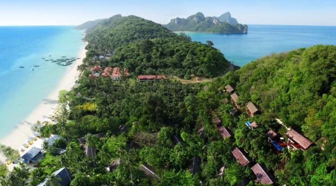 Eco-Outdoor-Feeling pur im Zeavola auf Koh Phi Phi, Thailand
