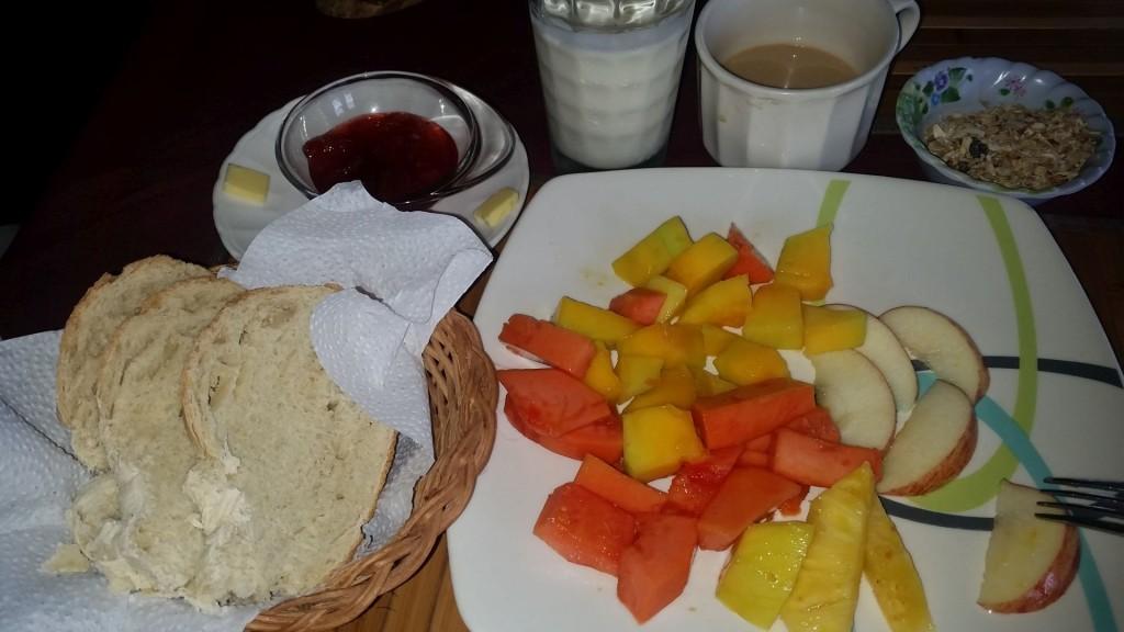 Frühstück im El Maco