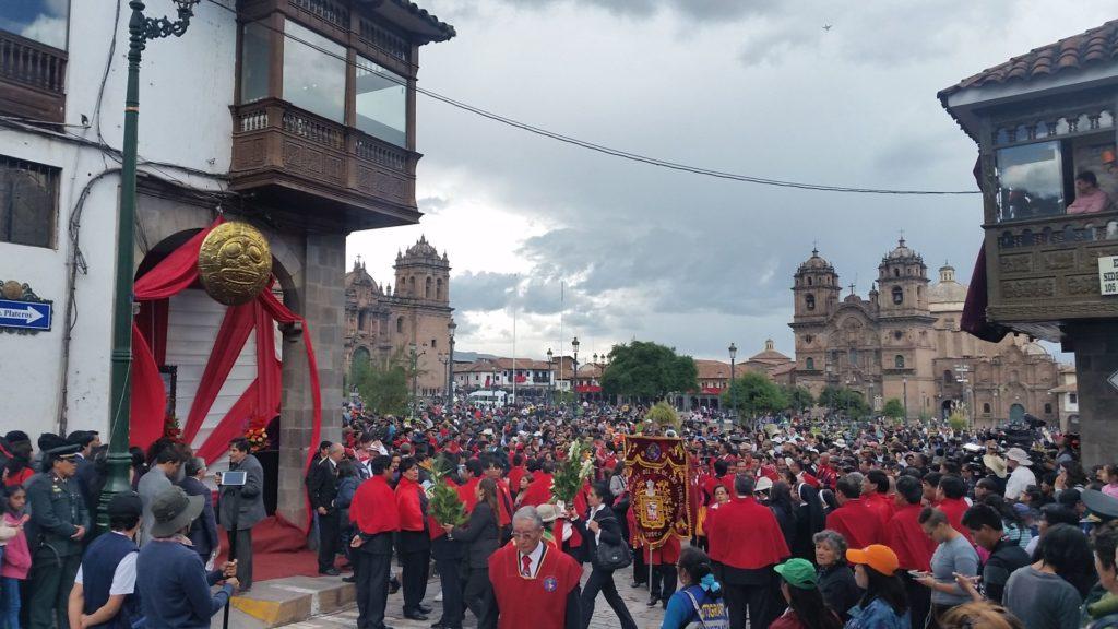 Osterfest in Cusco, Peru