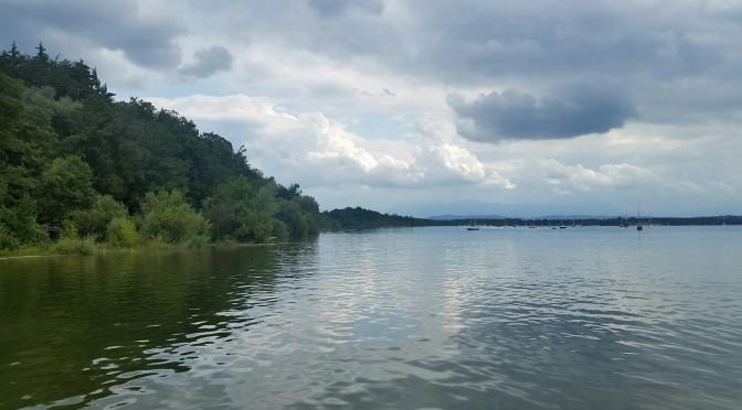 Gastro-Szene ganz entspannt beim Drachenbootrennen am Starnberger See