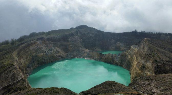 Kelimutu-Kratersee auf Flores