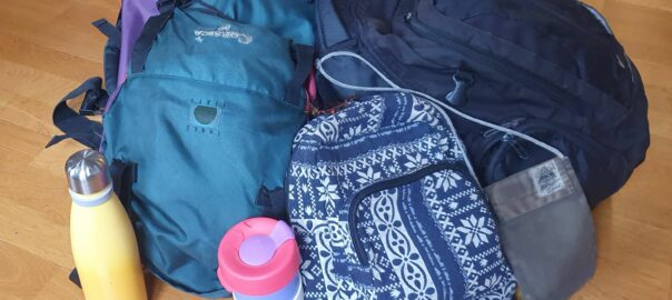 Aus- und Einpackliste